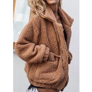 🆕Dakota Zip Up Sherpa Coat